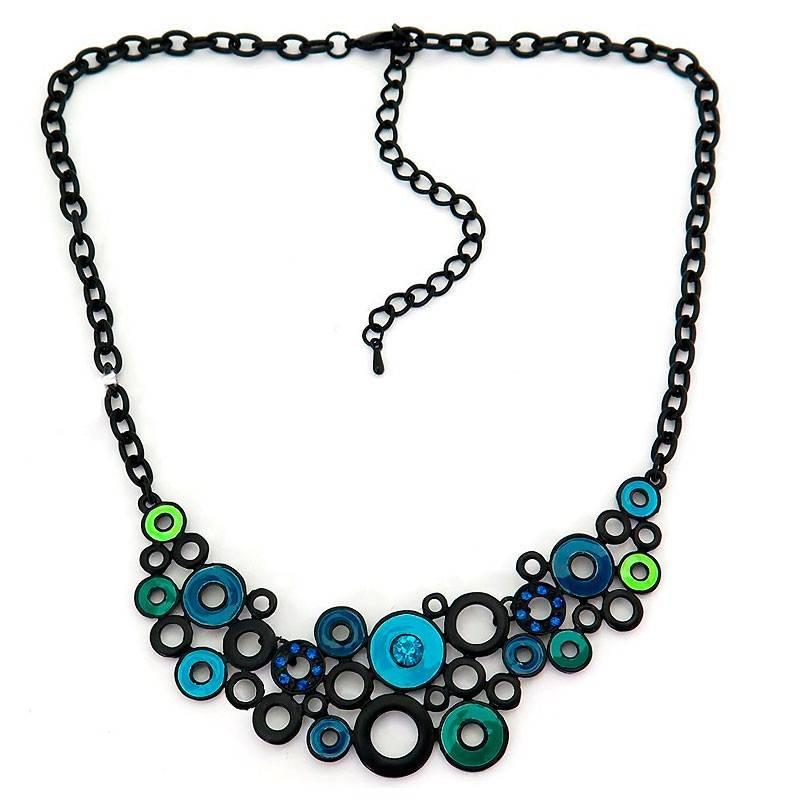 Collar Multi Black Blue