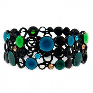 Pulsera Multi Black Blue