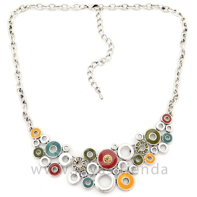 Collar Multi Silver