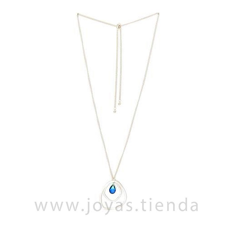 Collar Dream piedra azul