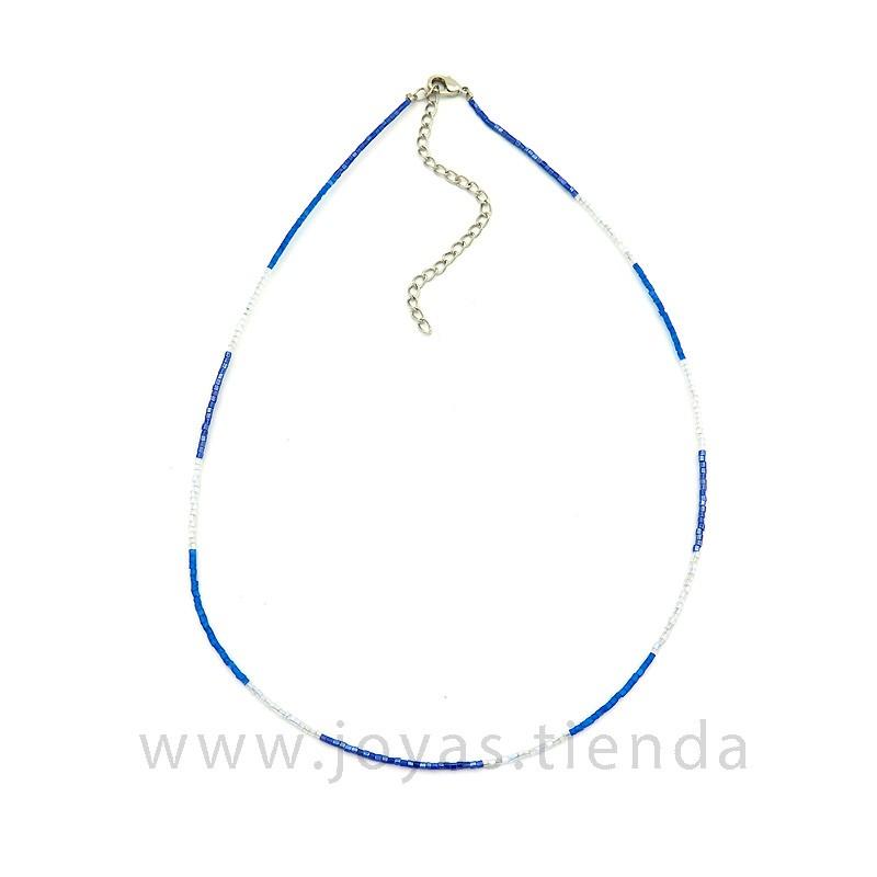 Collar Danky Azul Morado