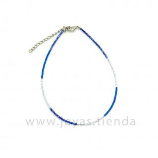 Tobillera Danky Azul Morado