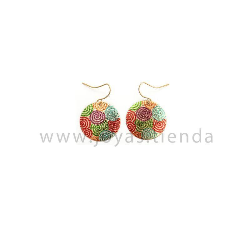 Pendientes Zanzibar Dream Gold