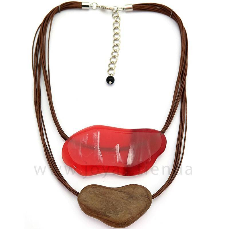 Collar Langob Rojo