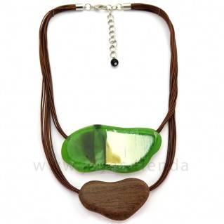 Collar Langob verde