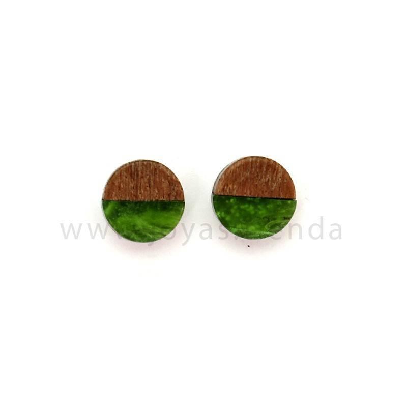 Pendientes Langob verdes