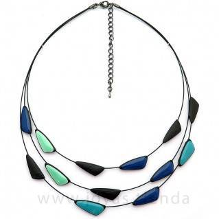 Collar Sand Blue Black