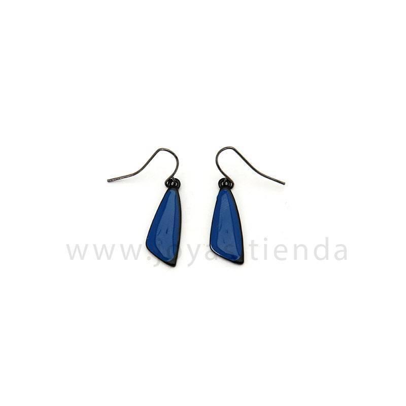 Pendientes Sand Blue Black Azules