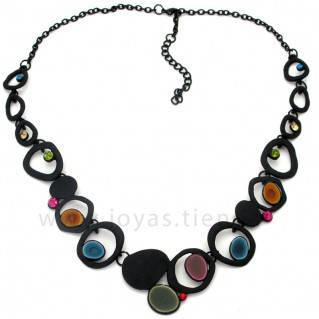 Collar Black Multi