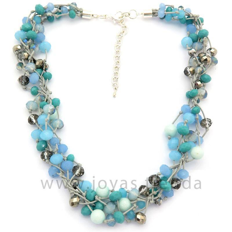 Collar Blue Nature