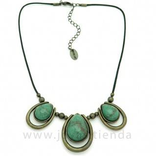 Collar atena verde