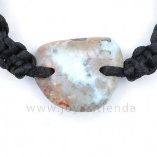 Pulsera Larimar Piedra Triangular PL32 detalle