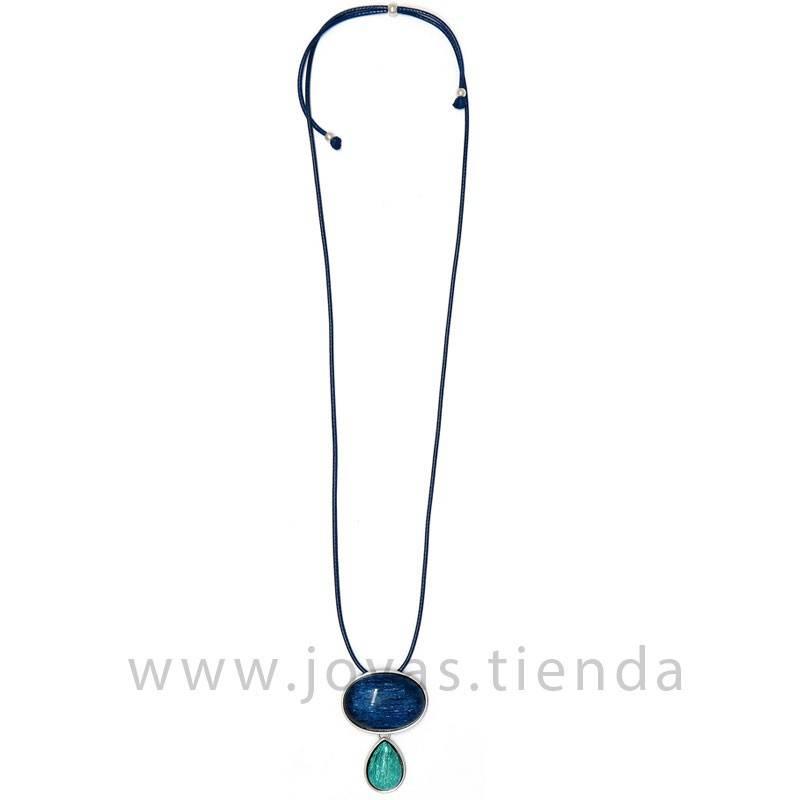 Collar Pipa Azul